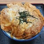 信濃庵 - 料理写真:かつ丼