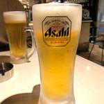 クワトロチンクエ - 生ビール