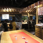 EDOCCO CAFE MASU MASU - 店、並び