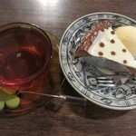 よつばカフェ - ケーキセット