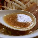 中華そば むら田 - 太麺濃厚味噌G・ニンニク(850円)