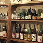 トライシクルカフェ - 梅酒がたくさん!