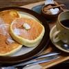コパン・コピーヌ - 料理写真:サワークリームのスフレパンケーキ