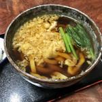 102120702 - 温たぬき  細麺