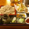 徳一 - 料理写真:会津の天ざるそば