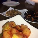 韓国の味 - 全くそそらないアテ