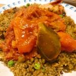カレーレストラン シバ - 野菜たっぷりのカレー
