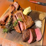 Toukyoukicchin - お肉スペシャル盛り(宗谷牛、肩ロース、スペアリブ)