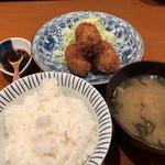 定食サトウ - タラのコロッケ