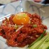 食楽苑 - 料理写真:ユッケ