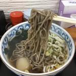 稲浪 - 春菊天そば380円