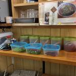 稲浪 - 薬味たち