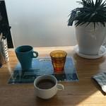 102133404 - フリードリンクのコーヒーとスープです!