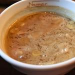 らーめんNageyari - つけ麺中盛(半熟たまご)