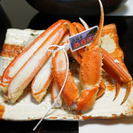 旬魚たつみ - 茹で浜坂産 松葉蟹