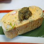 旬魚たつみ - 松葉蟹の玉子焼