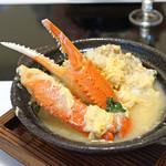旬魚たつみ - 松葉蟹の玉子とじ汁