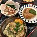 雷井土音 - 惣菜3種