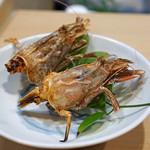 笹すし - 猛者(モサ)海老の頭