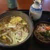 八雲庵 - 料理写真:鴨なんばんと割子一段