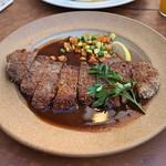 ARIA. C - 料理写真:ビーフカツレツ