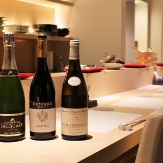 天ぷら、日本酒、ワイン…。美食と美酒が生むマリアージュに浸る
