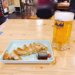 102148022 - お得セット お昼から一人でビール( ^ ^ )/□