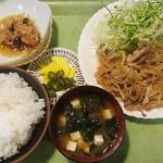 定食家 - 牛焼き¥900