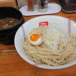 Ramenyashichi - 「つけめん(麺量210g)」+「麺大盛140g」
