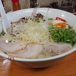 Ramenyashichi - 「塩ちゃーしゅー麺(麺量140g)」+「麺中盛70g」