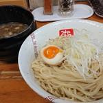 らーめん弥七 - 「つけめん(麺量210g)」+「麺大盛140g」