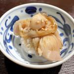 鮨 ふじわら - 煮ハマグリ