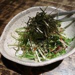 Garo - 水菜とじゃこの梅肉サラダ