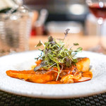 ARMONICO - 平スズキと蛤と茸のトマト煮込み