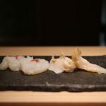 寿司 さ々木 - たことつぶ貝