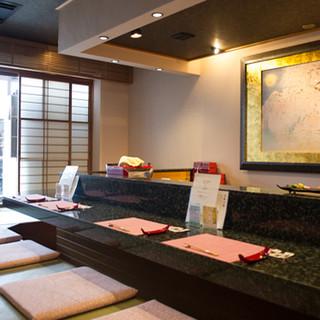 京都らしい趣のある空間で、優雅なひとときをお過ごしください