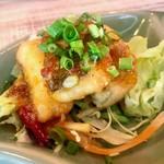 ピンク・エレファント - 白身魚の唐揚げスイートチリソース