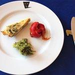トラットリア ルッチョラ - 料理写真:前菜3品。