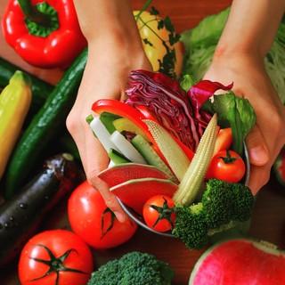 大人気!彩り野菜の収穫が付いているステーキランチ!