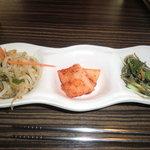 韓国家庭料理ジャンモ - ナムル食べ放題