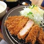 とんかつ一丁 - 料理写真:健康豚特上ロース