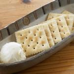 ギョウザバー・りん屋 - りん屋のクリームチーズ