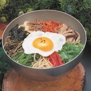 オモニが作る韓国料理