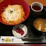 なのはな亭 - ランチカツ丼¥500-