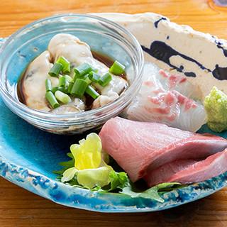 4〜10日かけて熟成された季節ごとのお魚で振舞う魚料理