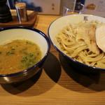 阿波尾鶏中華そば藍庵 - つけ麺です☆ 2019-0217訪問