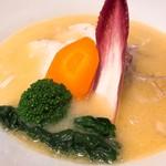 虎舎 - 料理写真:鶏白湯SOBA