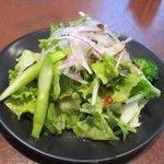 パラタ - チシャのサラダ