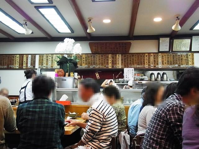 金田 - 店内