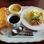 カフェ レスト アルファ - 料理写真:朝トーストSET